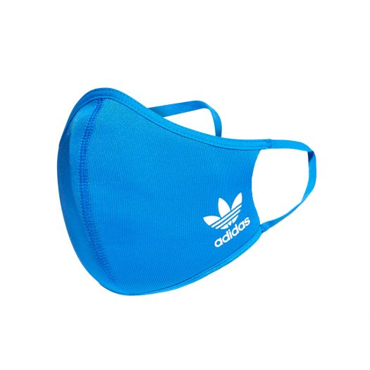 adidas Face Cover 3-Pack Blue - Large