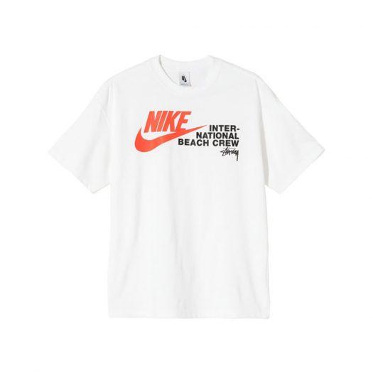 Nike x Stussy International Beach Crew T-Shirt White