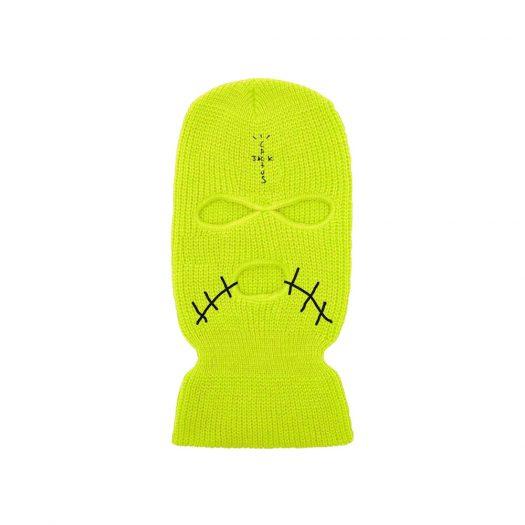 Travis Scott JACKBOYS Cover Neon Mask Green