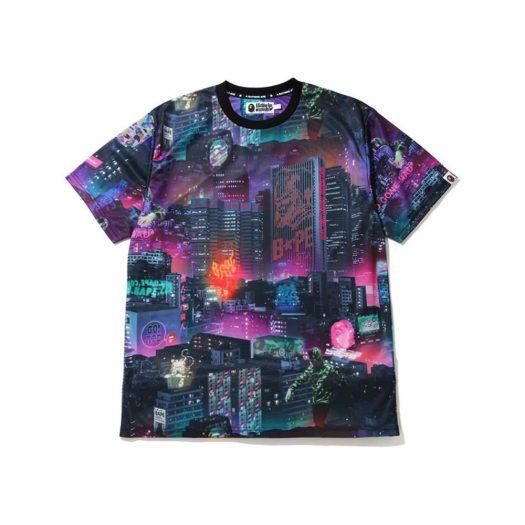 Bape Neon Tokyo T-shirt Black