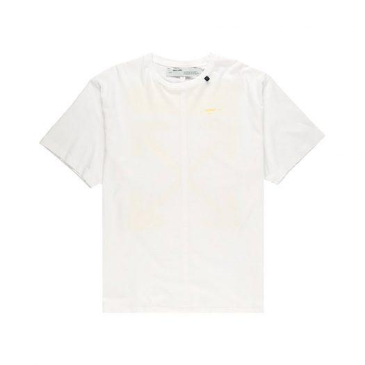 Off-white Oversized Acrylic Arrows S/s T-shirt White/yellow