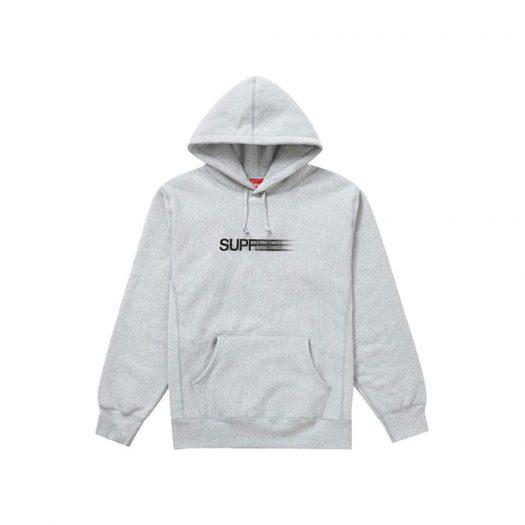 Supreme Motion Logo Hooded Sweatshirt (SS20) Ash Grey