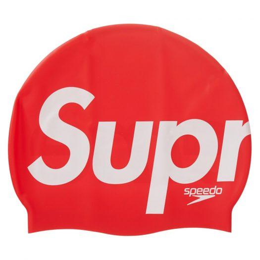Supreme Speedo Swim Cap Red