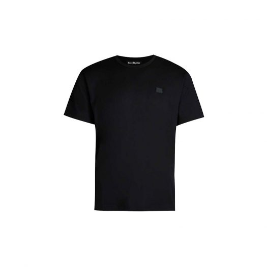 Acne Studios Nash Logo-patch Cotton-jersey T-shirt