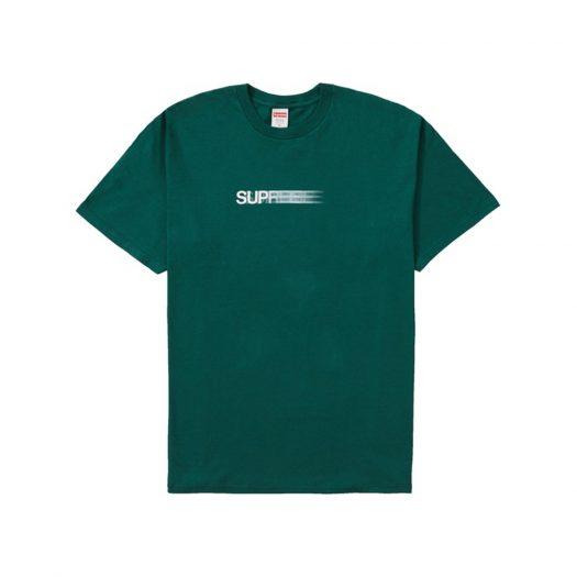 Supreme Motion Logo Tee (SS20) Dark Green