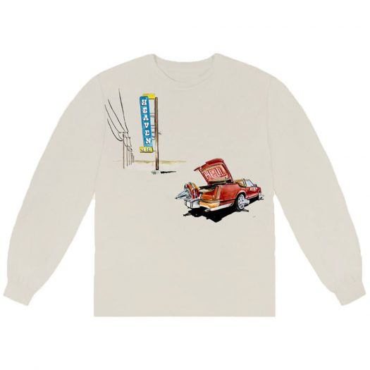 Don Toliver Heaven or Hell L/S Tee Natural