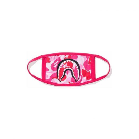 Bape Abc Camo Shark Mask Pink