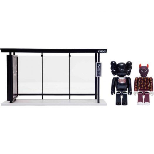 Kaws X Medicom Bus Stop Series Volume 1 Vinyl Toy Black/red