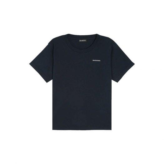 Balenciaga Logo Print Cotton T-shirt 4-10 Years