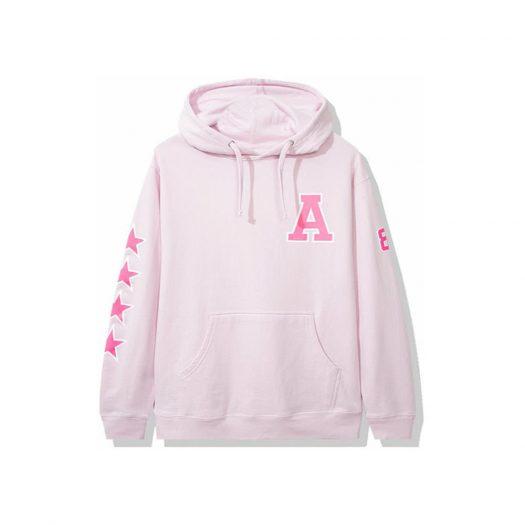 Anti Social Social Club Sports Hoodie Pink