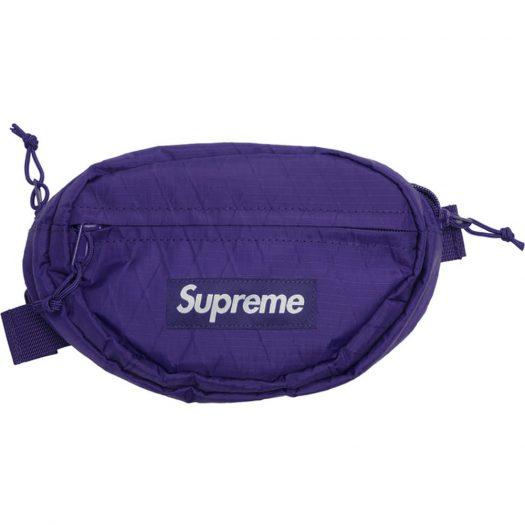 Supreme Waist Bag (FW18) Purple