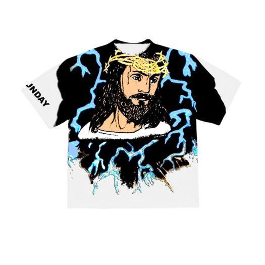 Kanye West AWGE for JIK Lightning T-Shirt Multi