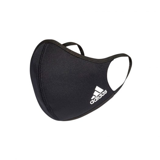 adidas Face Cover 3-Pack Black - Small (Kids Size)