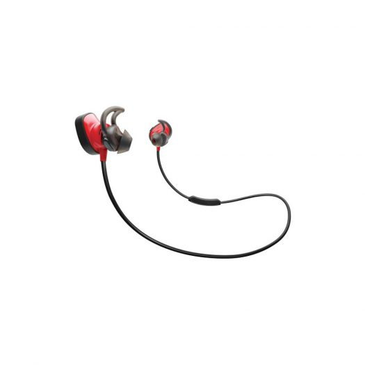 Bose SoundSport Pulse Wireless In-Ear Headphones, Red