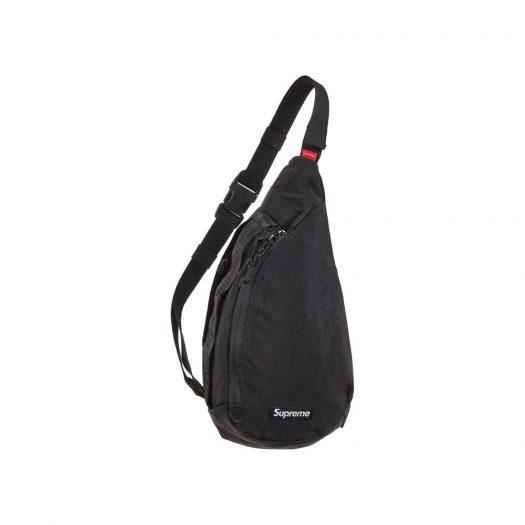 Supreme Sling Bag Black