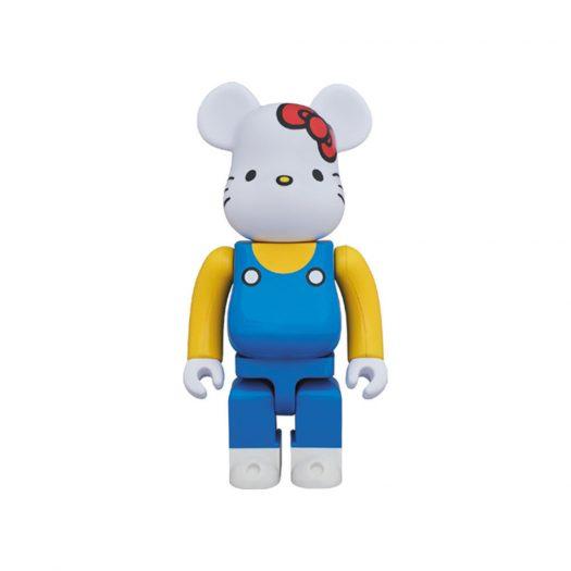 Bearbrick Hello Kitty (Blue Overall Ver.) 400% White