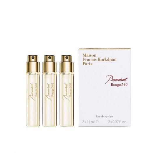 Maison Francis Kurkdjian Baccarat Rouge 540 Eau De Parfum Refills 3 X 11ml