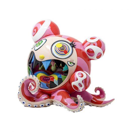 Takashi Murakami x BAIT Mr. Dob A Figure Multicolor