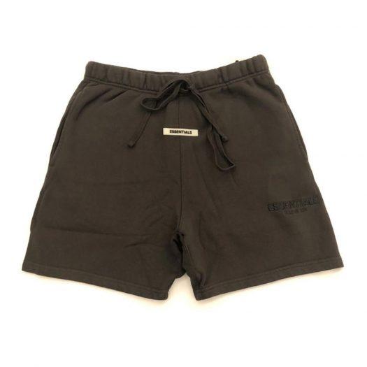 Fear Of God Essentials Sweat Shorts Black Ink