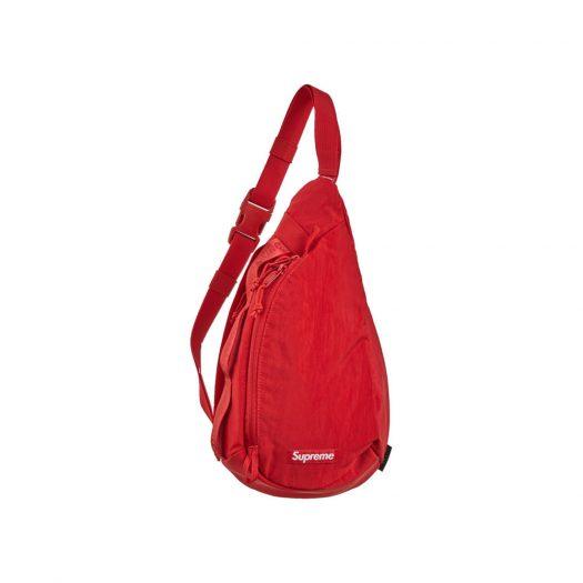 Supreme Sling Bag Dark Red
