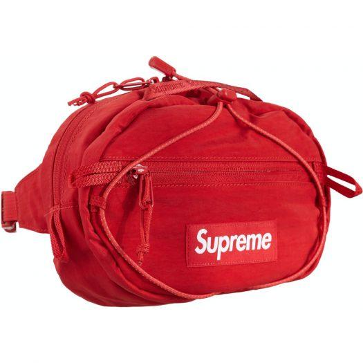 Supreme Waist Bag (FW20) Dark Red