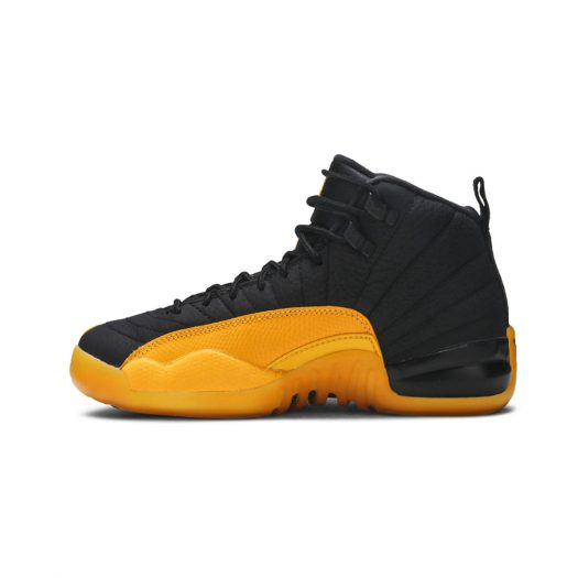 Jordan 12 Retro Black University Gold (GS)