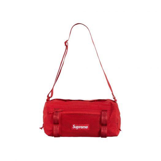 Supreme Mini Duffle Bag Dark Red