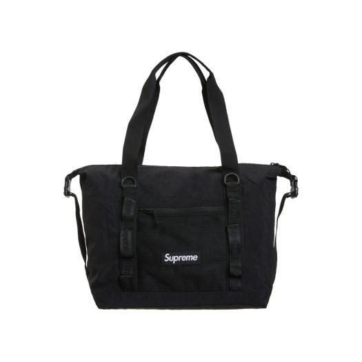 Supreme Zip Tote Black