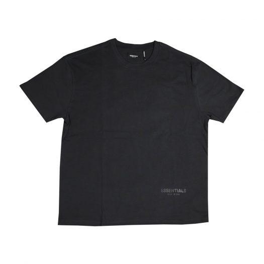 Fear Of God Essentials 3m Logo Boxy T-shirt Black/white