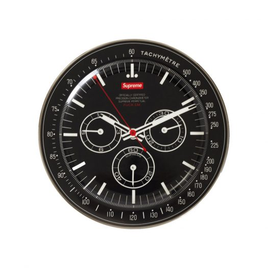 Supreme Watch Plate Black