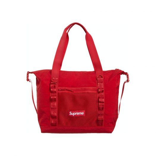 Supreme Zip Tote Dark Red