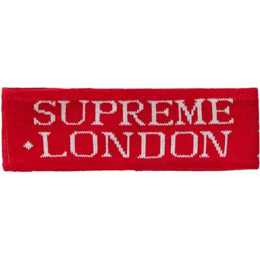 Supreme International Headband Red