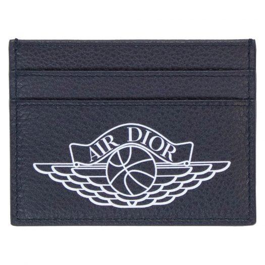 Dior x Jordan Wings Card Holder (4 Card Slot) Navy
