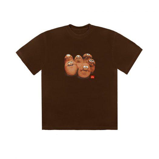 Travis Scott x McDonald's Squad III T-Shirt Brown