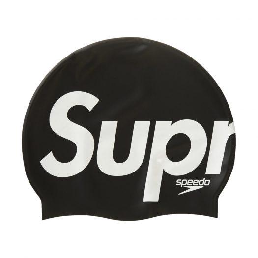 Supreme Speedo Swim Cap Black