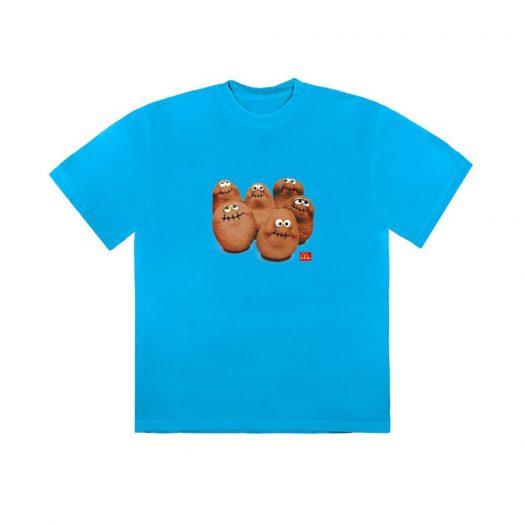 Travis Scott x McDonald's Squad II T-Shirt Blue