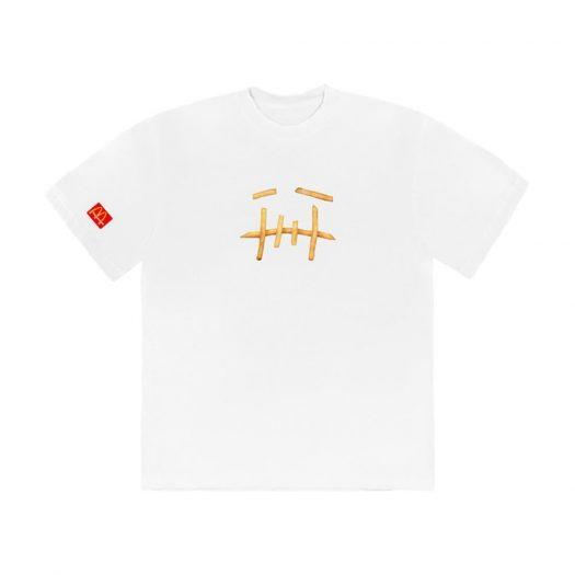 Travis Scott x McDonald's Fry T-Shirt White