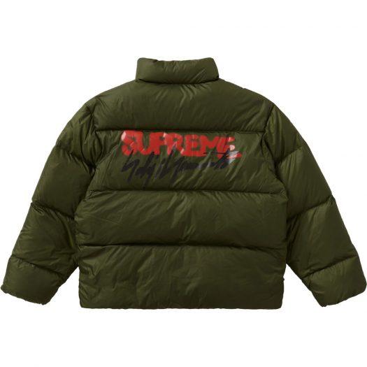 Supreme Yohji Yamamoto Down Jacket Olive