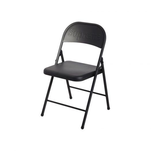 Supreme Metal Folding Chair Black