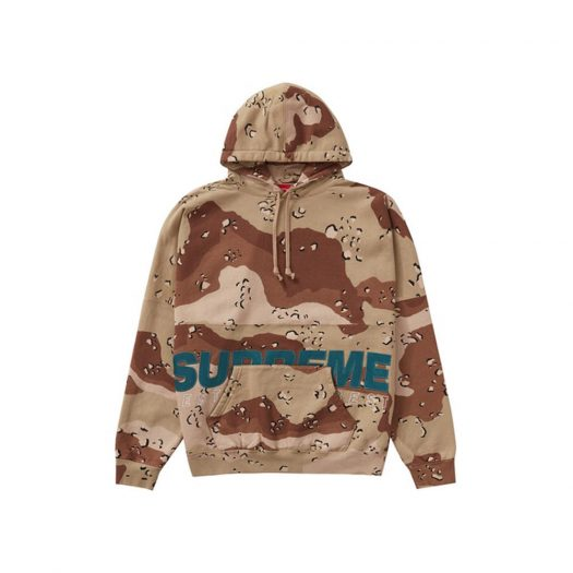 Supreme Best Of The Best Hooded Sweatshirt Chocolate Chip Camo