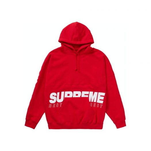 Supreme Best Of The Best Hooded Sweatshirt Red