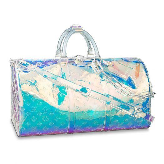 Louis Vuitton Keepall Bandouliere Monogram 50 Prism