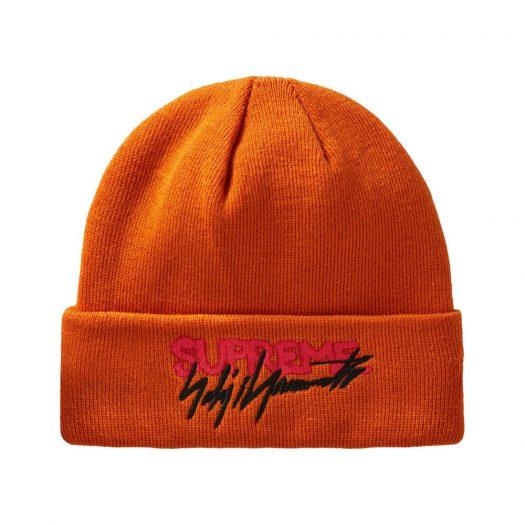 Supreme Yohji Yamamoto New Era Beanie Orange