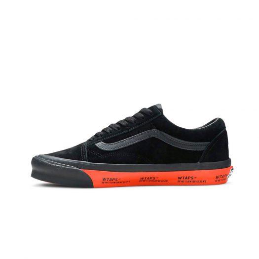Vans Old Skool WTAPS Black Orange