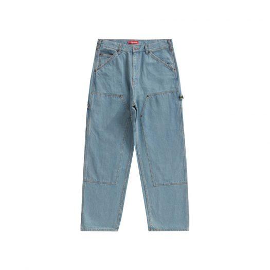 Supreme Double Knee Denim Painter Pant Blue