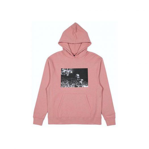 Jordan x Union Flying High Hooded Sweatshirt Rust Pink