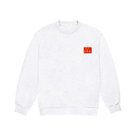 Travis Scott x McDonald's Staff Crewneck White