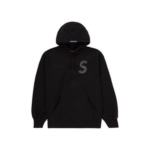 Supreme S Logo Hooded Sweatshirt (Fw20) Black
