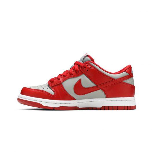 Nike Dunk Low Retro Medium Grey Varsity Red UNLV (GS) (2021)