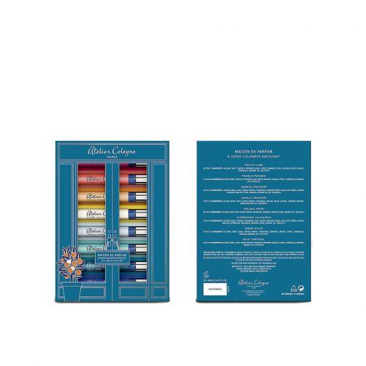 Atelier Cologne Perfume Wardrobe Set 8 X 4ml